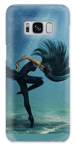 Water Ballet Galaxy Case by Debby Herold