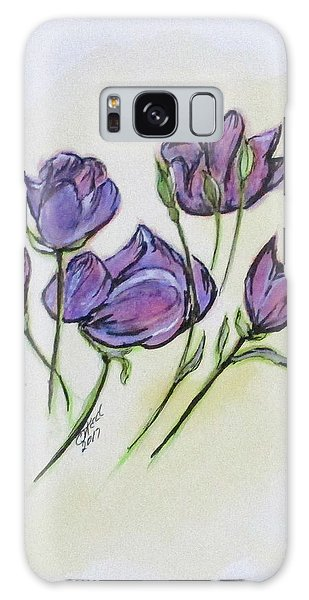 Water Color Pencil Exercise Galaxy Case