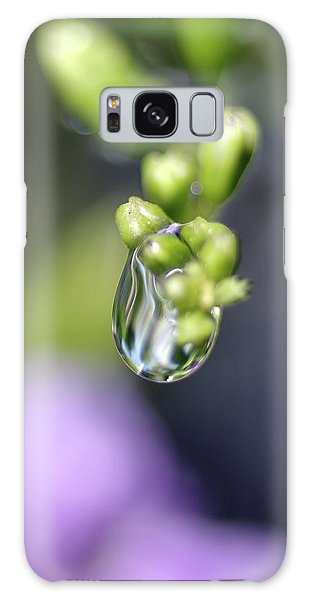 Water Droplet Iv Galaxy Case by Richard Rizzo
