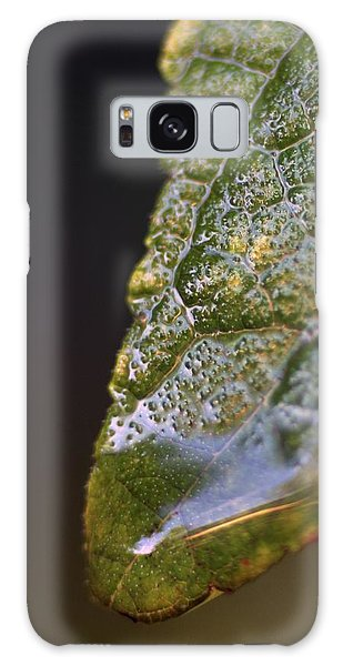 Water Droplet V Galaxy Case by Richard Rizzo