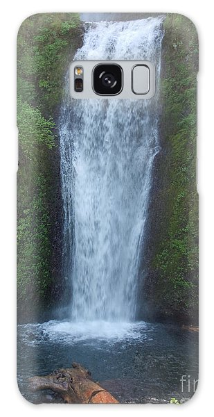 Water Fall Galaxy Case by Shari Nees