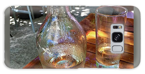 Water Glass And Pitcher Galaxy Case by Angela Annas