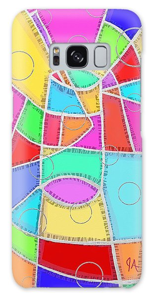 Water Glass Of Light And Color Galaxy Case by Jeremy Aiyadurai