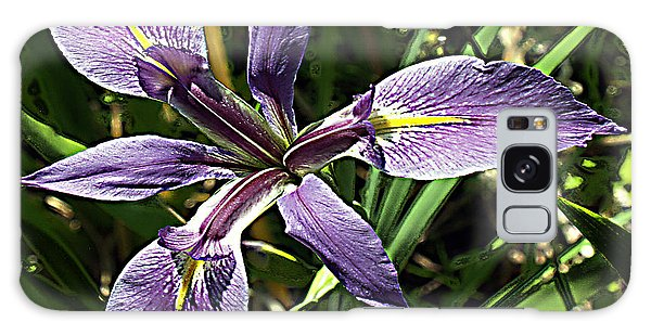 Water Iris Galaxy Case