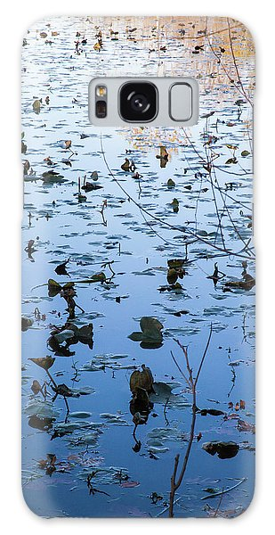 Water Lilies Autumn Song Galaxy Case