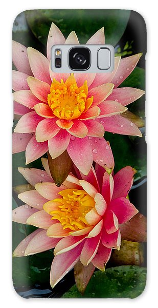 Water Lilies Galaxy Case by Brent L Ander