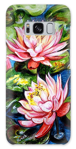 Water Lilies  Galaxy Case