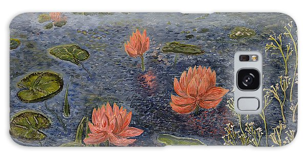 Water Lilies Lounge Galaxy Case