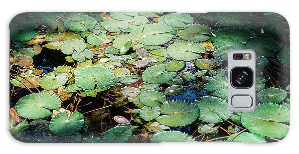 Water Lillies Galaxy Case