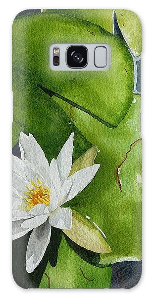 Water Lilly Galaxy Case