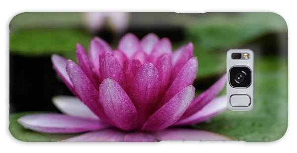 Water Lily After Rain Galaxy Case
