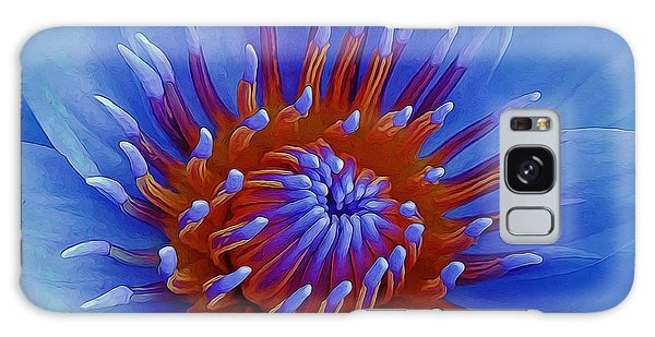 Water Lily Center Galaxy Case