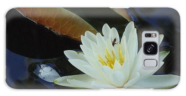 Water Lily Galaxy Case by Daun Soden-Greene