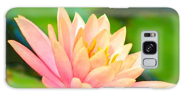 Floating Water Lily  Galaxy Case