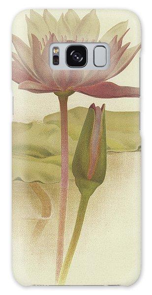 Decorative Galaxy Case - Water Lily  Nymphaea Zanzibarensis by English School