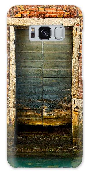 Water-logged Door Galaxy Case