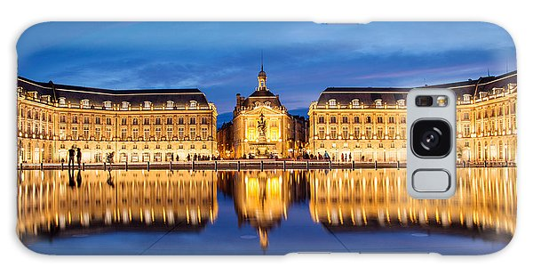 Town Square Galaxy Case - Water Mirror by Delphimages Photo Creations