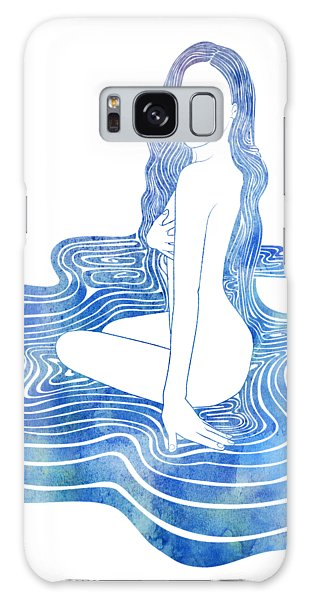 Water Nymph Cii Galaxy Case