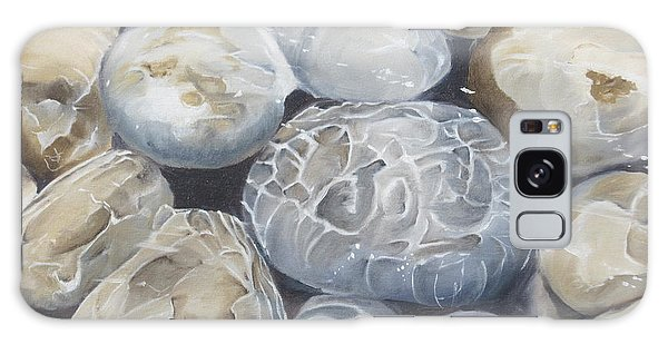 Water Of Pebbles Galaxy Case
