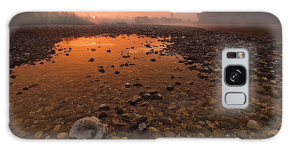 Outdoors Galaxy Case - Water On Mars by Davorin Mance