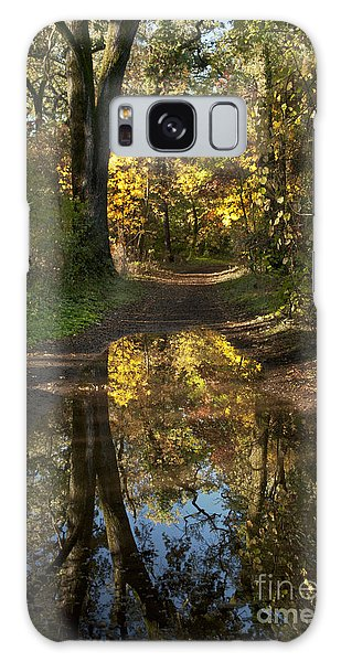 Water On The Trail Galaxy Case