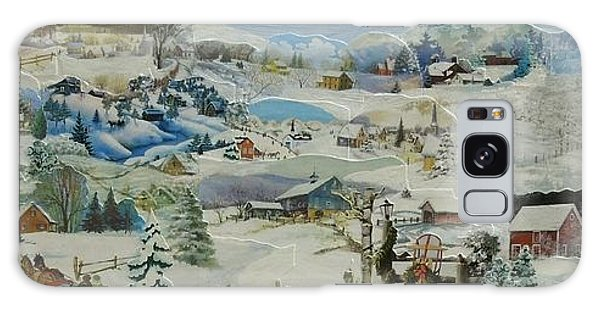 Water Pump In Winter - Sold Galaxy Case
