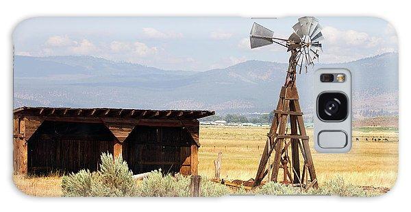 Water Pumping Windmill Galaxy Case