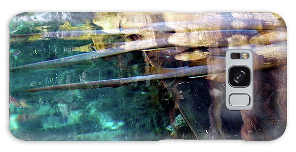 Galaxy Case featuring the photograph Water Reflections by Francesca Mackenney