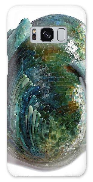Glass Galaxy Case - Water Ring II by Mia Tavonatti