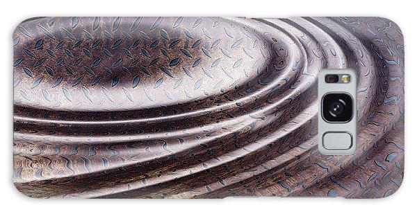 Patina Galaxy Case - Water Ripple On Rusty Steel Plate  by Michal Boubin