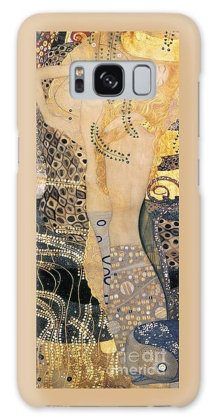 Breast Galaxy Case - Water Serpents I by Gustav klimt