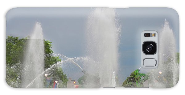 Water Spray - Swann Fountain - Philadelphia Galaxy Case by Bill Cannon