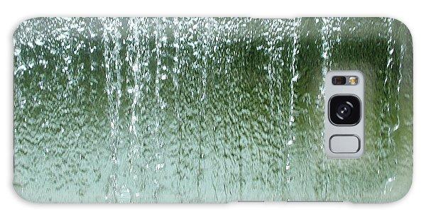 Water Wall  Galaxy Case by Martina Fagan