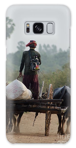 Waterbuffalo Driver With Angry Birds Tote Bag Galaxy Case by Jason Rosette