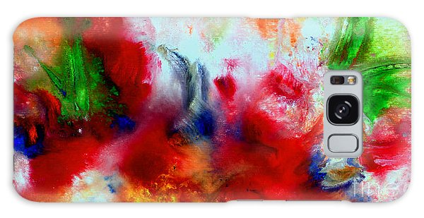 Watercolor Abstract Series G1015a Galaxy Case