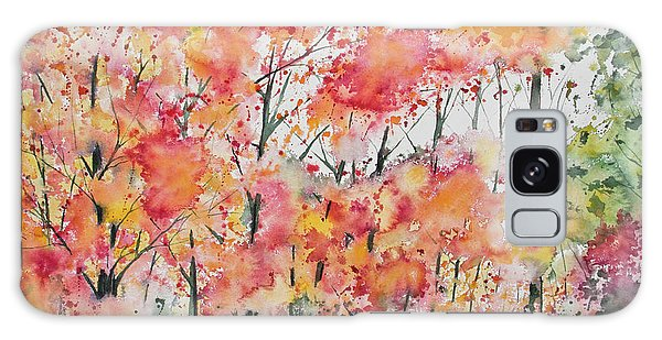 Watercolor - Autumn Forest Galaxy Case