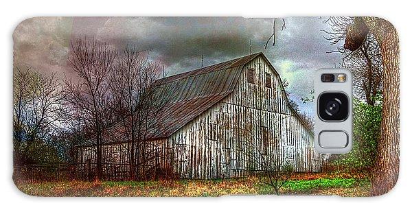 Watercolor Barn 2 Galaxy Case by Karen McKenzie McAdoo