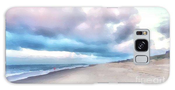 Watercolor Beach Galaxy Case