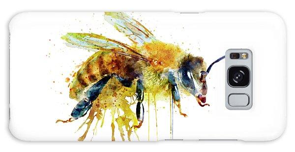 Watercolor Bee Galaxy Case