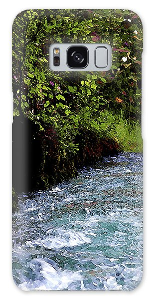 Watercolor Big Springs Missouri 2125 W_2 Galaxy Case