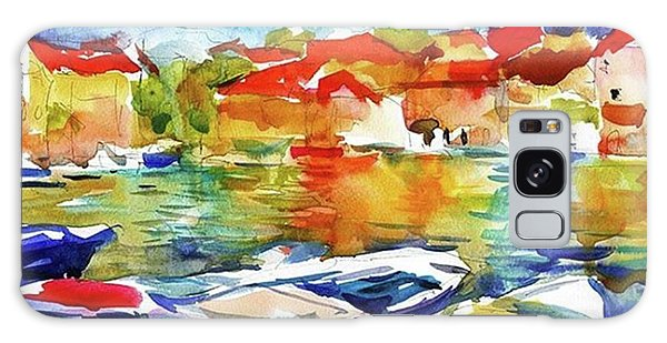 Transportation Galaxy Case - Watercolor Boats By Svetlana Novikova ( by Svetlana Novikova