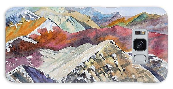 Watercolor - Colorado Elk Range View Galaxy Case
