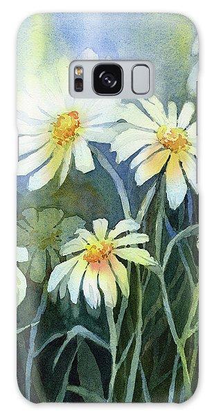 Daisy Galaxy Case - Daisies Flowers  by Olga Shvartsur