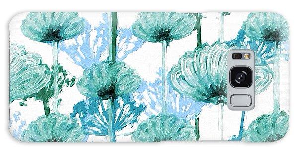 Watercolor Dandelions Galaxy Case by Bonnie Bruno