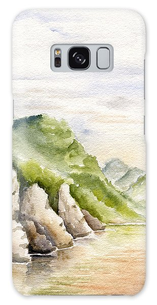 Watercolor Landscape Plein Air Galaxy Case