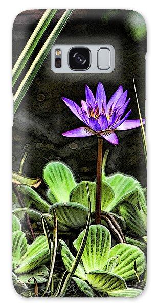 Watercolor Lily Galaxy Case