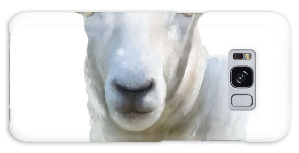 Watercolor Sheep Galaxy Case