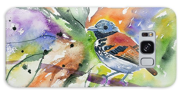 Watercolor - Spotted Antbird Galaxy Case