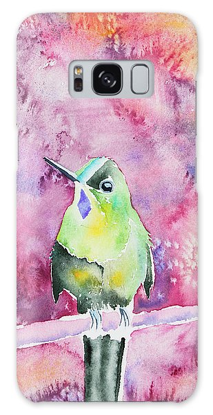 Watercolor - Violet-tailed Sylph Galaxy Case
