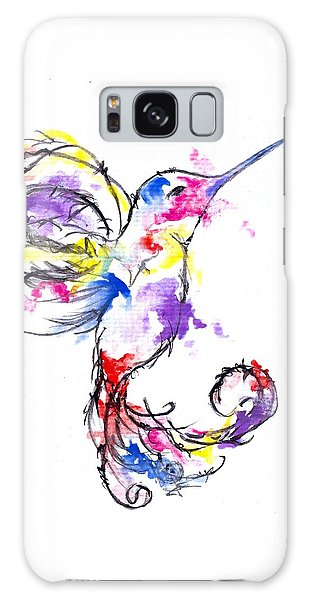 Watercolour Hummingbird Galaxy Case